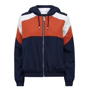 Colour Block Fleece Jacket